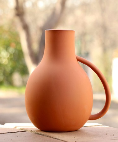 Vase terracotta en argile