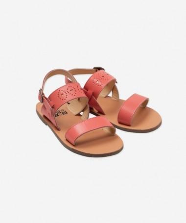 Sandales Coeur Corail - Bonton