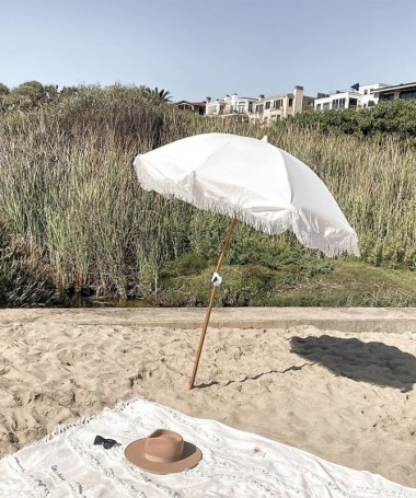 Beach Umbrella - Antique White