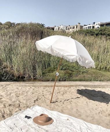 Beach Umbrella - Antique White