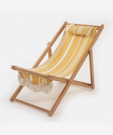 Sling Chair - Vintage Yellow