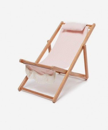 Sling Chair - Pink Stripe - Business & Pleasure