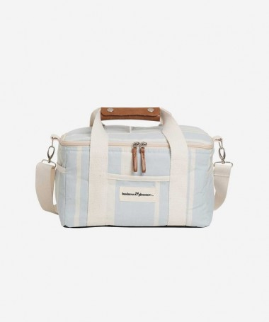 Cooler Bag - Vintage Blue Stripe -