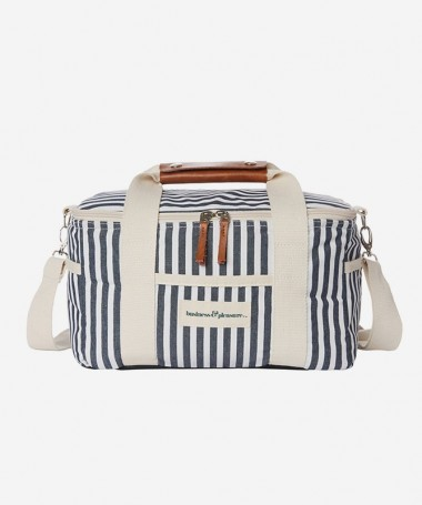 Cooler Bag - Navy Stripe -