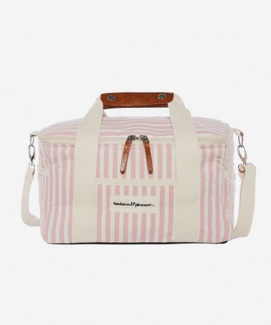 Cooler Bag - Pink Stripe -